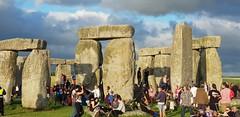Summer Solstice 2018: Thousands celebrated longest day of the year at Stonehenge (Stonehenge Stone Circle News www.Stonehenge.News) Tags: stonehenge summer solstice open access druid gathering sunset sunrise pagan english heritage visit wiltshire neolithic