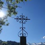 Cross @ Hike to Roc des Tours & Aiguille Verte @ Le Grand-Bornand thumbnail