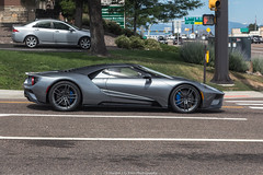 Profile (Hunter J. G. Frim Photography) Tags: supercar colorado 2017 ford gt american gray silver stripes v6 turbo fordgt 2017fordgt hypercar