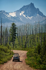 Subaru Forester near Three Fingered Jack in Central Oregon (softroadingthewest.com) Tags: subaru forester sh softroader softroading offroad softroadingthewest