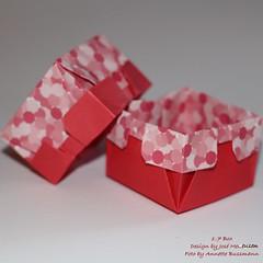 1-7 Box (José Meeusen) 2 (AnkaAlex) Tags: origami paperfolding papercraft paper paperfoldingart josémeeusen origamibox