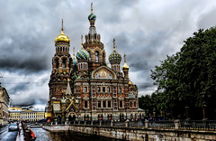 Milagro en San Petersburgo (Miradortigre) Tags: rusia russia saintpetersburg sanpetersburgo church iglesia orthodox
