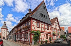 Seligenstadt (wernerfunk) Tags: hessen fachwerk