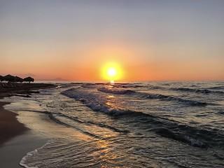 Сонечко☀️ #greece #summer #sun #sea #sky# #sunset #beach #goodnight #relax #nature
