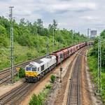 1266 451-4 247 051-6 Euro Cargo Rail München Nord Rbf 14.06.18 thumbnail