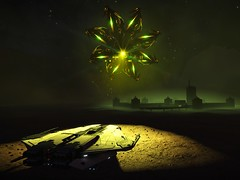 The Krait Escape 4 (kizcat) Tags: elitedangerous elite dangerous krait thargoid kraitmkii