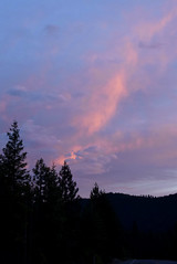 Natural Fireworks (nrg_crisis) Tags: sunset clouds trees outdoors siskiyoucounty california sky northerncalifornia