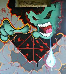 Neerpede pylon art by CASTAR (Linda DV) Tags: lindadevolder lumix geotagged belgium brussels 2018 streetart ribbet castar panasonic colour colours urbanart urbanculture city europe capitalcity mural fresco neerpede pylons ringway highway mariusrenard anderlecht streetarthalloffame