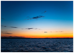 Trasimeno Lake: sunset with Venus (Luca Cesari) Tags: sunset tramonto venere venus lake trasimeno trasimenolake lagotrasimeno olympus em1markii 50mm olympus12mmf12