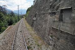 Rothenbrunnen - Military Blast Barrage (Kecko) Tags: 2018 kecko swiss switzerland schweiz suisse svizzera graubünden graubuenden gr rothenbrunnen domleschg europe sperre militär armee military army barrier sprengobjekt rhätischebahn rhaetian railway railroad bahn gleis track road strasse strase viafierretica rhb eisenbahn swissphoto geotagged geo:lat=46773650 geo:lon=9418140