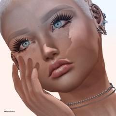 Aun siento tus labios en mi piel (Milena Inaka ♥) Tags: slblog secondlife sl shape skin tdme ears