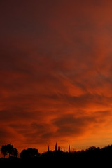 Sunset 7 6 18 #08 (Az Skies Photography) Tags: sun set sunset dusk twilight nightfall cloud clouds sky skyline skyscape rio rico arizona az riorico rioricoaz arizonasky arizonaskyline arizonaskyscape arizonasunset orange salmon gold golden yellow black july 6 2018 july62018 7618 762018 canon eos 80d eos80d canon80d canoneos80d