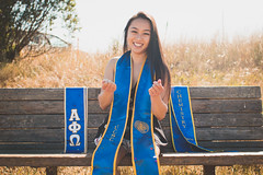 IMG_4711 (michelllephant) Tags: grad graduation photoshoot santacruz photos sign bridge confetti pictures 2018 girl poses