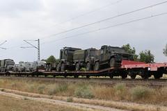Bundeswehr Militärtransport, Waghäusel (TaurusES64U4) Tags: bundeswehr