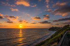 16_EncinitasCoastHighwayLandscape (Justin Bartels) Tags: coasthighway 101 highway1 encinitas sandiego socal southerncalifornia california sunset landscape seascape clouds wideview nature outdoors usa