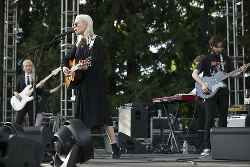 Phoebe Bridgers opening for Sylvan Esso