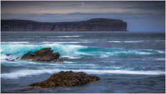 The Hunt is Over (Augmented Reality Images (Getty Contributor)) Tags: nisifilters benro caithness canon cliffs clouds dunnethead landscape longexposure nature rocks scotland seascape summer water waves
