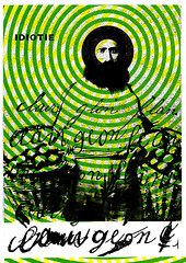 Idiot (Fierceham) Tags: collage cutandpaste graphicdesign idiot man circles scrawl