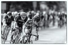 Got Bokeh?!? (MadoneRider) Tags: bokeh bw nik silver efex pro nikon d4 200mmf2 wideopen race bicycling criteriumracing