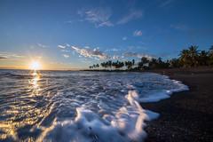 IMG_4891 (Greg Meyer MD(H)) Tags: ocean wave hawaii sunset landscape beach black sand