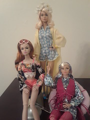 My Poppys welcome their Sister! (Talolili) Tags: time season poppy parker fashion doll