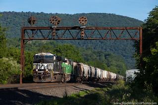 NS 48A at Barree, Pennsylvania