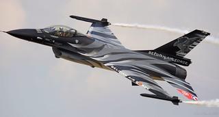 Lockheed Martin F-16A MLU Fighting Falcon Belgian Air Component RIAT 2018