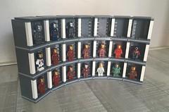 Hall of Armors (Lego Skeleton) Tags: lego iron man hall armors marvel mcu ironman minifigure minifig armours tony stark