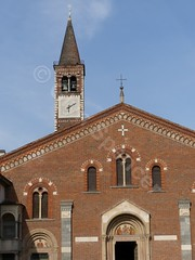 Basilica di Sant'Eustorgio (glynspencer) Tags: milano lombardy italy it