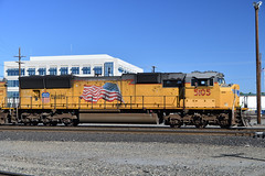 2018-06-10_17-05-10 (Hyperflange Industries) Tags: up 5105 sd70m nikon d7500 nikkor afs dx 1685mm f3556g vr nef raw capturenxd capturenx2 capturenx photoshopcs5 union pacific locomotive engine roseville california davisyard railroad train rostershot