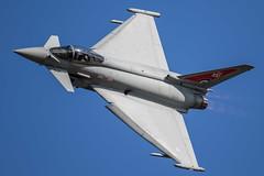 Raf Typhoon FGR4 (Steve Cooke-SRAviation) Tags: canonstevecooke airplane aeroplane warplanes airshow riat sraviation redarrows totterdown jet riat2018 mig fairford display f16 2015 vulcan