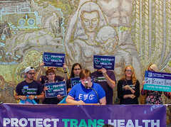 2018.07.17 #ProtectTransHealth Rally, Washington, DC USA 04708