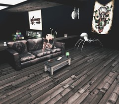 W.S_Shop (JohnnyWalker29 Resident) Tags: secondlife store fashion furniture tattoo sofa rustic