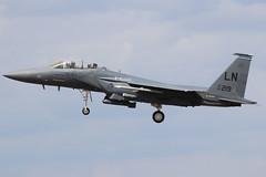 97-0219 (GH@BHD) Tags: 970219 mcddouglas mcdonnelldouglas f15 f15e eagle strikeeagle usaf unitedstatesairforce strikeaircraft fighter bomber raflakenheath aviation aircraft