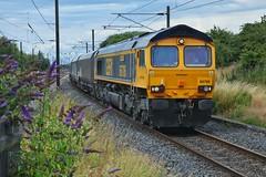 Blyth Coals (JohnGreyTurner) Tags: diesel engine locomotive thirsk yorkshire br rail uk railway transport 66 class66 shed gbrf freight coal hoppers