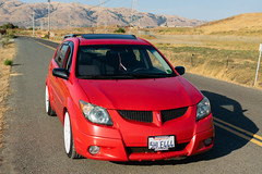 DSC_0767 (jaytotheveezy) Tags: pontiac vibe base lava red 1zz work crkai kiwami ultimate bcracing coilovers toyo tires genvibe