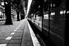The trainman (*Chris van Dolleweerd*) Tags: street streetphotography urban train transport chrisvandolleweerd fujifilmx100s station