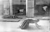 img302 (Höyry Tulivuori) Tags: india 1970 street life people cars monochrome men women child 70s vintage seventies temple city country индия улица чернобелое автомобиль дома народ быт hindu monach