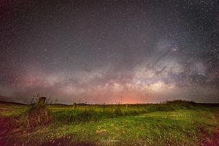 Milky Way On Saddle Road 01