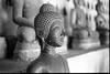 A quiet Buddha in Wat Sisaket  - Vientiane (Laos) (waex99) Tags: 2018 28mm 400iso buddhist extreme leica m6 summicron ultrafine vientiane alms buddhism film laos march monks 50mm buddha statue religion sisaket wat museum