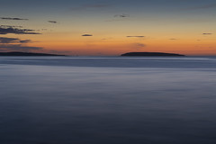 Penmon Point & Puffin Island (Ken Bland) Tags: penmonpoint anglesey northwales wales sea sunset seascape horizon puffin island puffinisland penmonlighthouse lighthouse nikond7100 nikon colour skyscape landscape minimalist simple peaceful tranquil calm relaxing