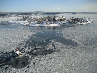 Oslofjord in winter