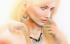KUNGLERS Bia (AvaGardner Kungler) Tags: kunglers avagardnerkungler secondlife jewelry virtual digital mesh fantasy photography dela necklace earrings statement
