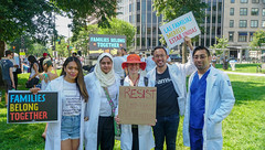 2018.06.30 WhiteCoats4FamiliesBelongTogether, Washington, DC USA 04236