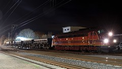 D - Nohab MY1155 >Altmark Rail< (BonsaiTruck) Tags: gleisarbeiten gleisbaustelle weichenwechsel weichenaustausch bahnhof bhf salzbergen altmark rail diesellok elok dieselelektrisch nohab my1155 rundnase zug schiene bahn railway