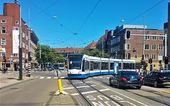 Lijn eehh... (Peter ( phonepics only) Eijkman) Tags: amsterdam city combino gvb tram transport trams tramtracks trolley rail rails streetcars strassenbahn nederland netherlands nederlandse noordholland holland
