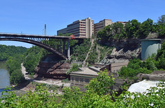 View from Lower Falls on Genesee River (dr_marvel) Tags: rochester lowerfalls river geneseeriver ny newyork