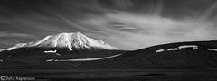 In the highlands (Ó.Guð) Tags: highlands mountain bw snow sky landscape landslag fjall fjöll ský iceland ísland icelandic svarthvítt hálendi óguð ogud olafurragnarsson ólafurragnarsson
