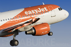 Easyjet G-EZFL 5-7-2018 (Enda Burke) Tags: gezfl ezy easyjet avgeek aviation egcc engine engines england evening easy airplane airport airbus a319 airbusa319 runway mcr manchesterairport manchester man manc manairport manchesterrunwayvisitorpark manchestercity travel takeoff departure