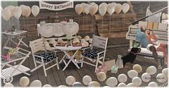 Happy Birthday Sergey! (Moxxie Kalinakova) Tags: married birthday love secondlife partners